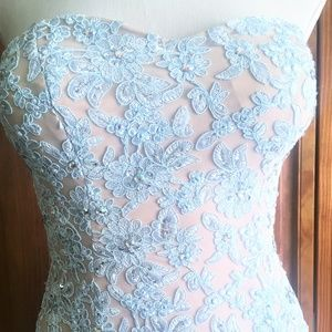 Winter beauty prom/holiday/formal dress